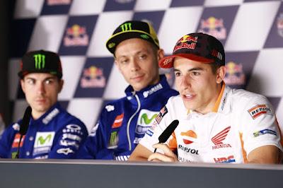 GP Prancis, Peluang Pertama Marquez Rebut Puncak Klasemen Rossi