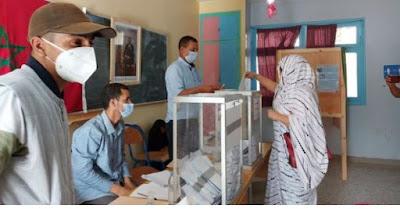 صفعة قوية للبوليساريو..الأقاليم الصحراوية المغربية تتصدر نسب المشاركة بالانتخابات