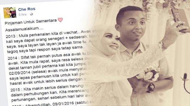Menyayat Hati, Calon Suami Meninggal, Curhatan Wanita ini Bikin Netizen Menangis