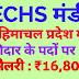 ECHS पालमपुर हिमाचल प्रदेश में चोकीदार और मेडिकल ऑफिसर के पदों पर भर्ती