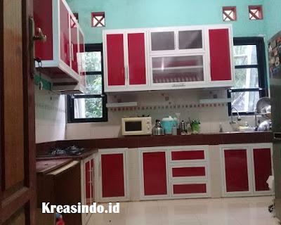 4 Model Kitchen Set Minimalis Dan Populer Masa Kini