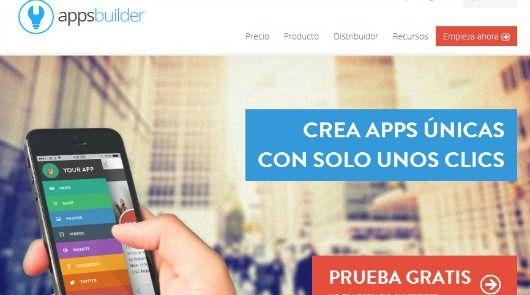 crear aplicaciones android con appsbuilder gratis
