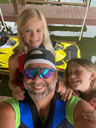 Me and the girls, 1st Trip out on the WaveRunner!
