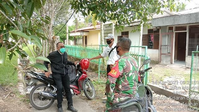 Melalui Komunikasi Sosial Personel Jajaran Kodim 0208/Asahan Untuk Jalin Silaturahmi Dengan Warga Binaan