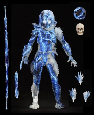 "San Diego Comic-Con 2020 Exclusive Predator 2 City Demon 7"" Action Figure by NECA"