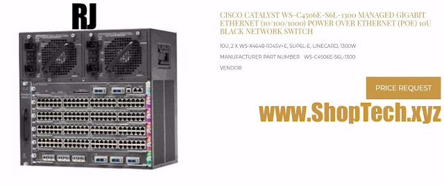 CISCO CATALYST WS-C4506E-S6L-1300
