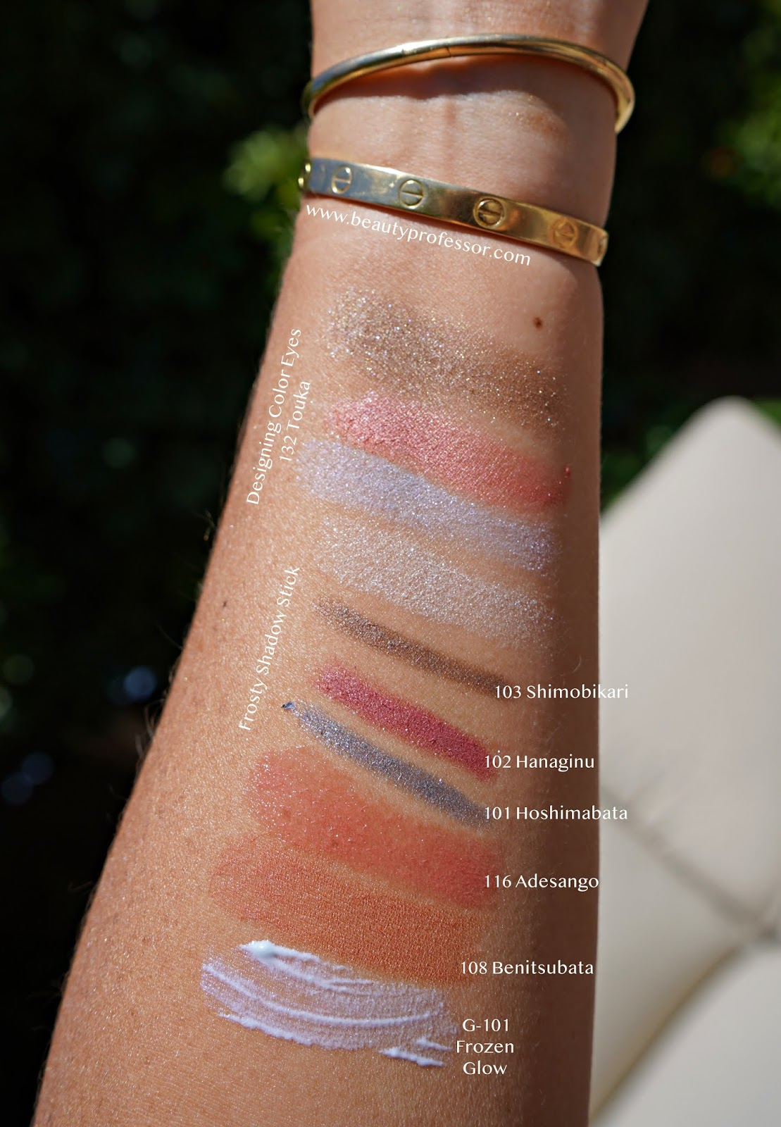 suqqu frozen summer 2020 collection swatches