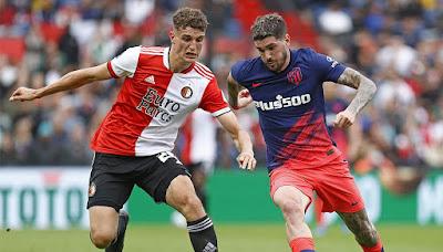 اهداف مباراة اتلتيكو مدريد وفينورد (1-2) مباراة ودية