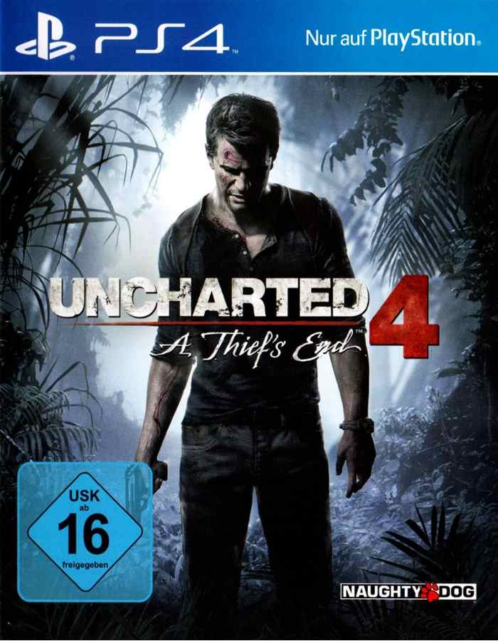 Ps4 Games Uncharted 4 A Thief S End
