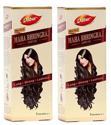 DABUR Maha Bhringraj Hair Oil 300 ML PACK OF 2