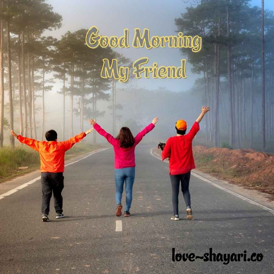good morning friends images