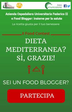 dieta mediterranea sì grazie, contest food blogger