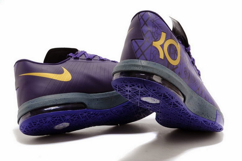 """size 40 a866a 77e48 Now this KD VI BHM arrived,size US8 to US12,Let have some pics here. Nike  KD 6 """"BHM"""". Color  Purple Venom Metallic Gold-Purple Dynasty"""