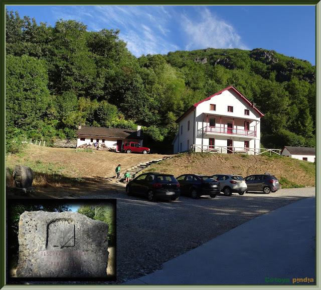 Centro de Visitantes las Tablizas en la Reserva de Muniellos