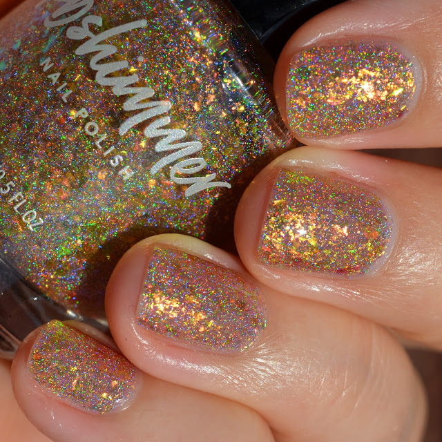 KBShimmer A Love-Heat Relationship swatch