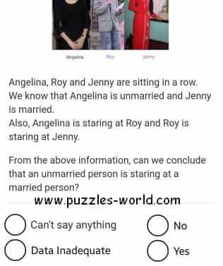 Unmarried Married Puzzle