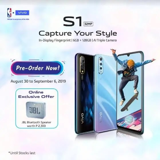 Vivo S1 Now Official in the Philippines