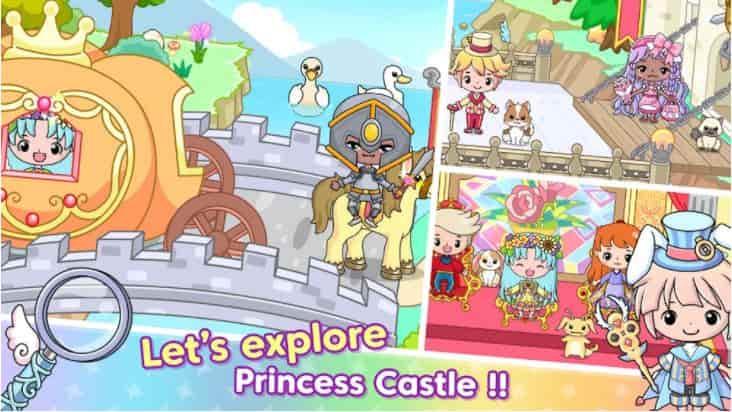 Jibi Land: Princess Castle v1.1.3 MOD, Free Rewards - Game giáo dục cho điện thoại