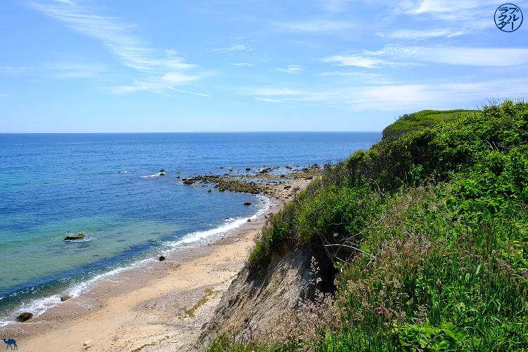 Le Chameau Bleu - Blog Voyage Block Island - Côte de Block Island