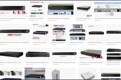 Download dan Setting CCTV NVR HikVision Via Internet Smartphone