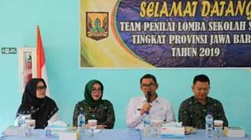 Wabup Sukabumi Terima Tim penilai Lomba Sekolah Sehat