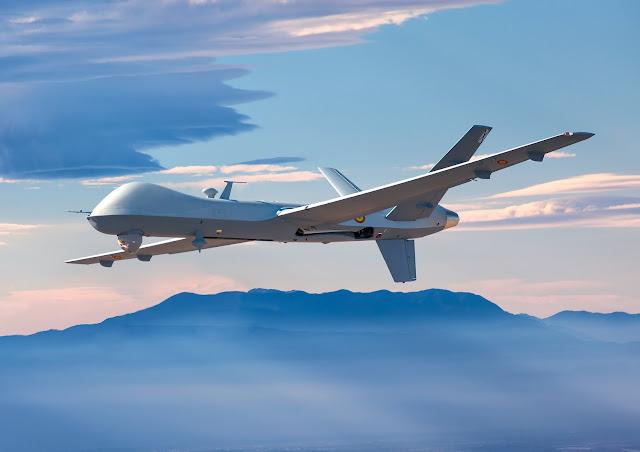 Primeras 'sueltas' de tripulaciones españolas en el UAV MQ-9 Predator-B