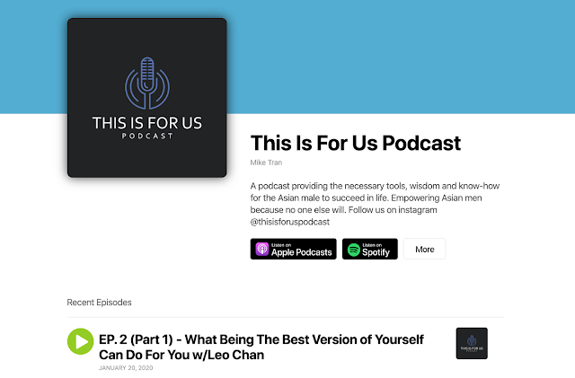 This Is For Us Podcast Leo Chan Feature