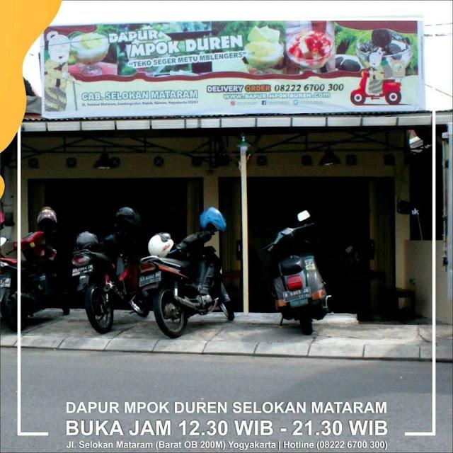outlet Dapur Mpok Duren Selokan Mataram