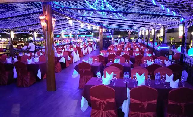 Dhow Cruise Marina Seatings