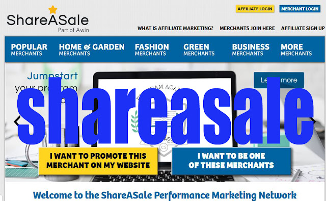 what is ShareASale affiliate Marketing how to use it