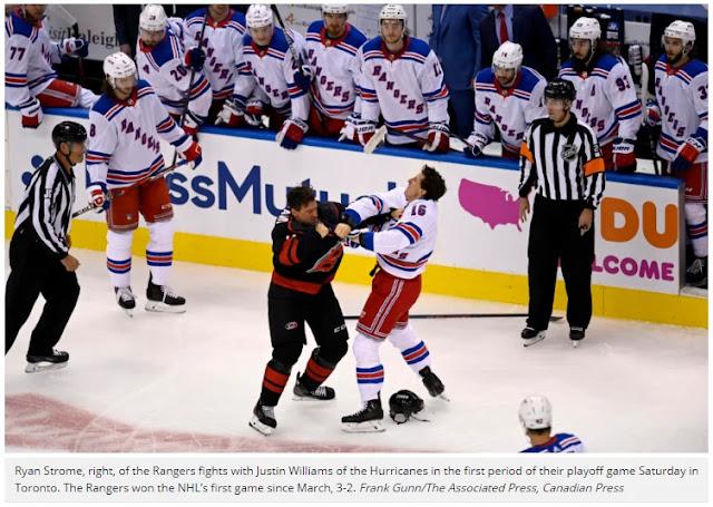 Drop the puck for summer season hockey: NHL playoffs get underway