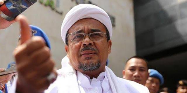 Penyidik Gabungan Bareskrim Dan Polda Jabar Periksa Habib Rizieq Di Rutan Polda