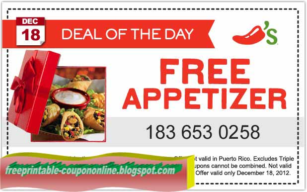 Chilis printable coupons october 2018