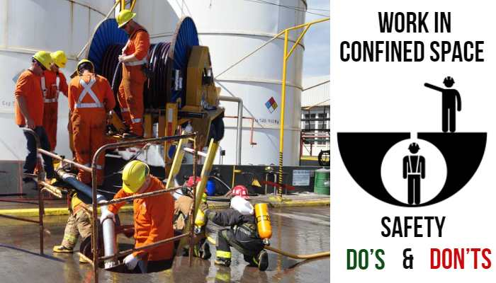 Working in Confined Space: Safety Do's and Don'ts