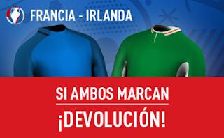 sportium ambos marcan devolucion Euro 2016 Francia vs Irlanda 26 junio