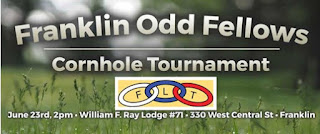 Franklin Odd Fellows - Cornhole Tournament - June 23