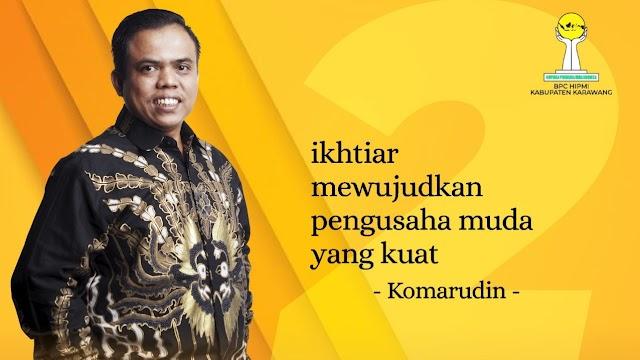 Komarudin Terpilih Menjadi Ketua HIPMI Karawang Periode 2021-2024
