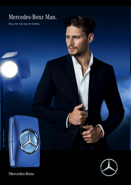 Mercedes Benz Man Blue by Mercedes Benz