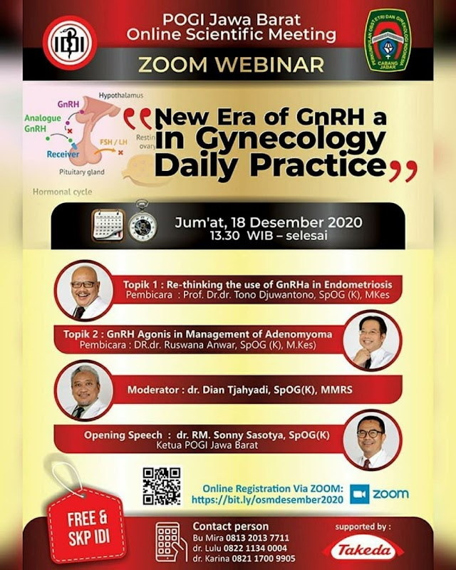 Webinar New Era of GnRH a in Gynecology Daily Practice