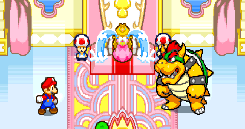 Mario Luigi Superstar Saga Gba Play Retro Games Online