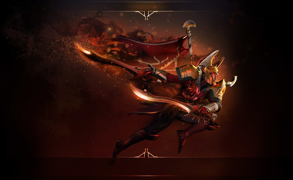 Legion Commander Blades of Voth Domosh Arcana