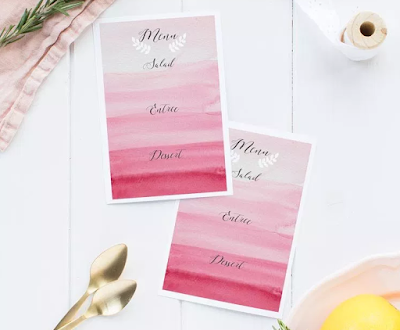 pink thanksgiving decor