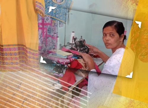 Story of Hope: Her children will have a better life, story, hope, story of hope, tailoring, business, tailoring business, stitching, source of income, responsibilities, homemaker, reputation, empower women