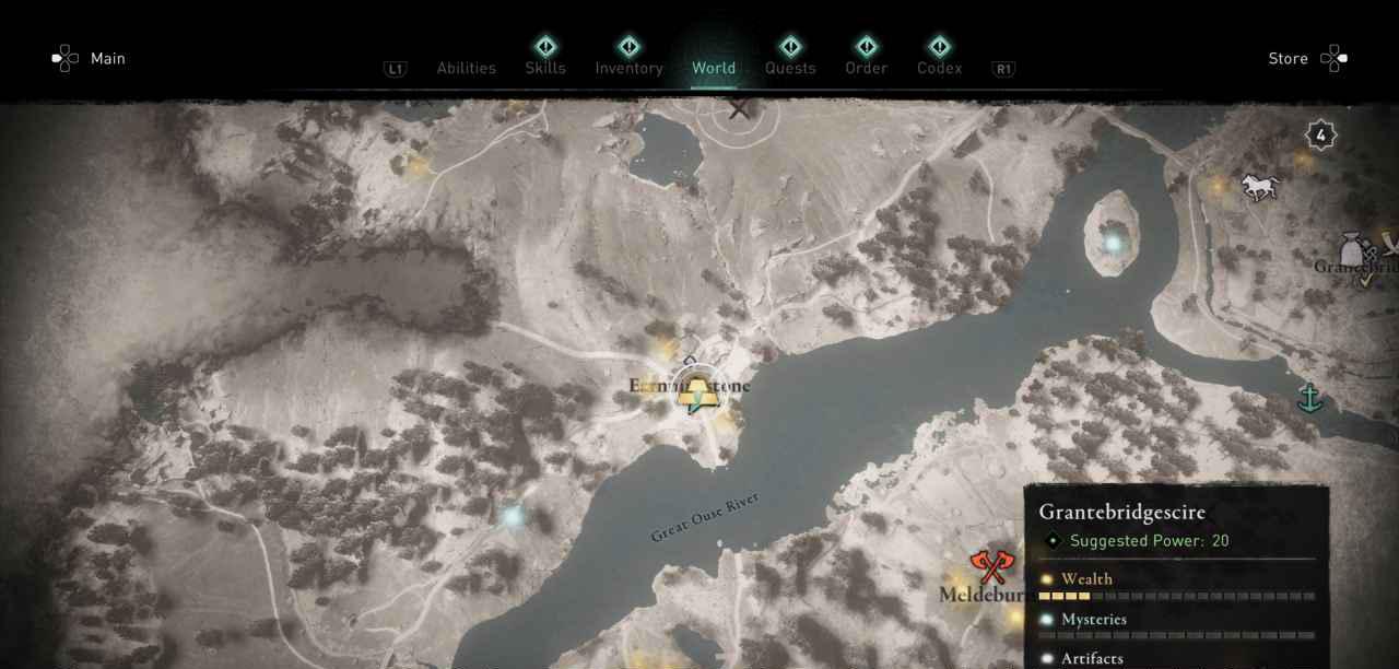 Ingot 28 map 1