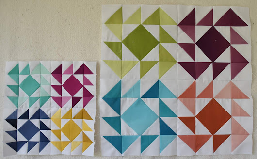 Clementine Quilt Along - May Blocks