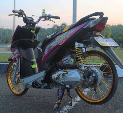 Modifkasi Racing Honda Beat Street