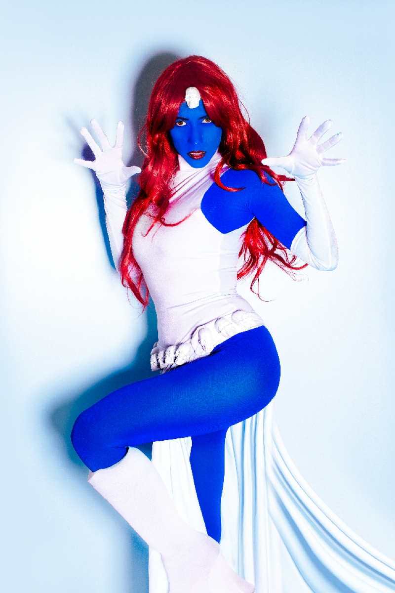 The Easiest Classic Mystique Costume Youu0027ll Ever Make & Top 10 Halloween Costume Ideas - We Love Colors Friends Blog