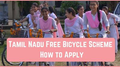 Tamil Nadu Free Bicycle Scheme