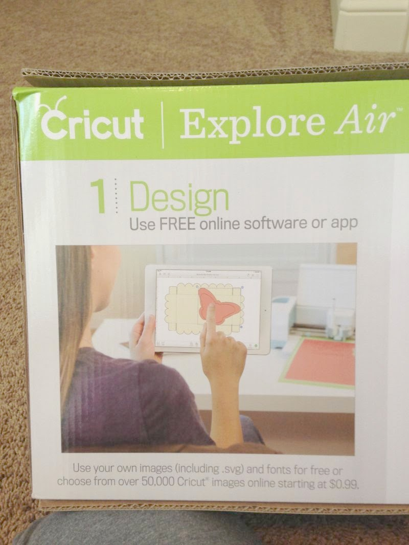 Cricut Explore Air Out of the Box - design