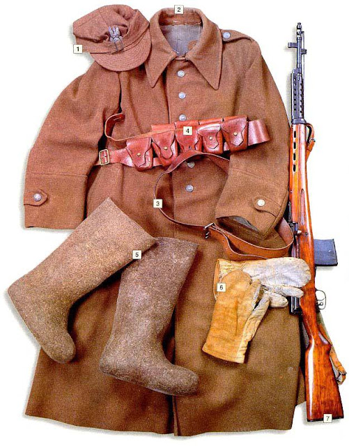 WW2 Military Uniform -Private, Polish Army in the USSR (1941)